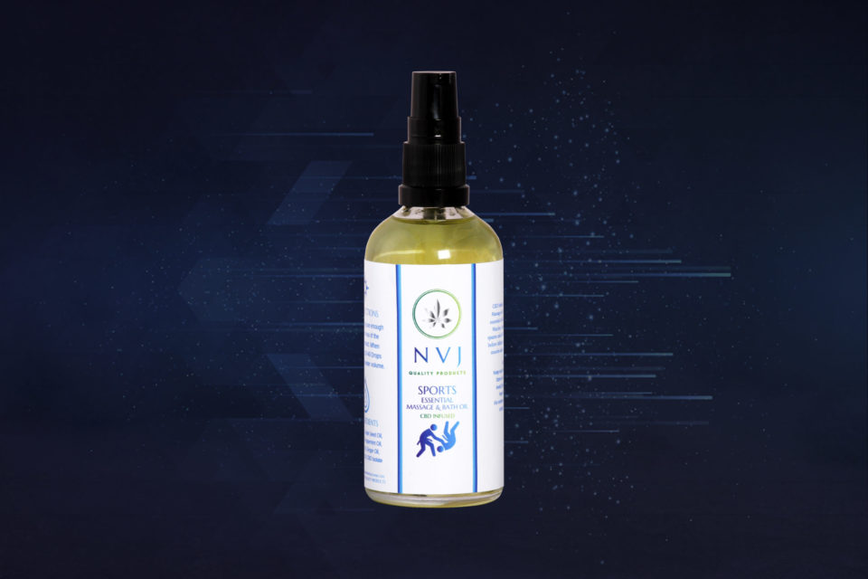 Sports CBD Massage Oil Aromatherapy