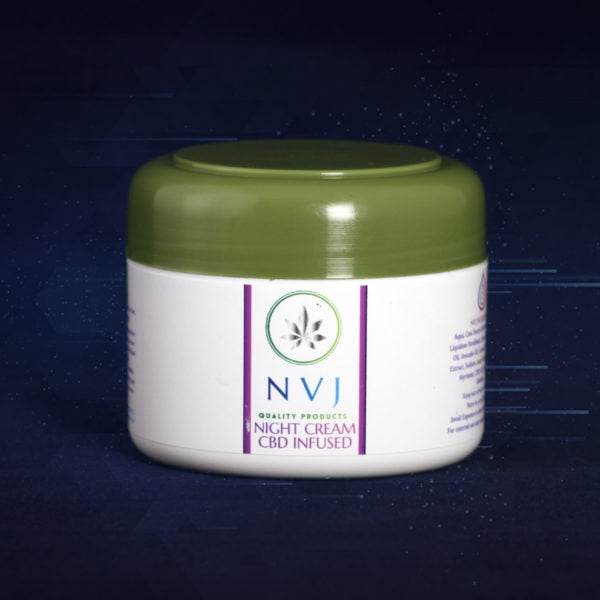 CBD Night Cream for Face and neck - 250g