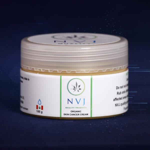 NVJ Organic Skin Cancer Cream - 250g