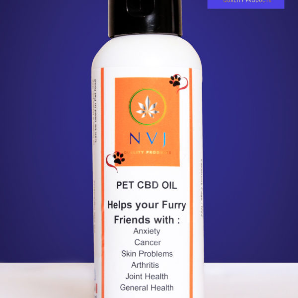 Pet CBD Oil – 100ml