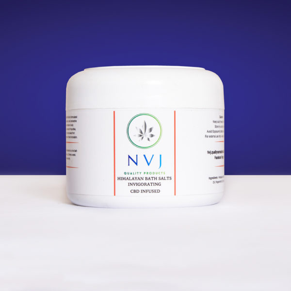 Himalayan CBD Bath Salts – Invigorating