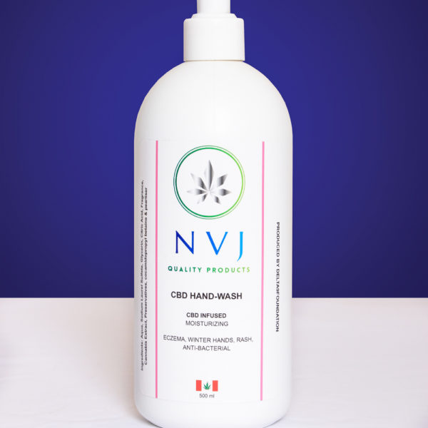 NVJ CBD Infused Hand Wash - 500ml